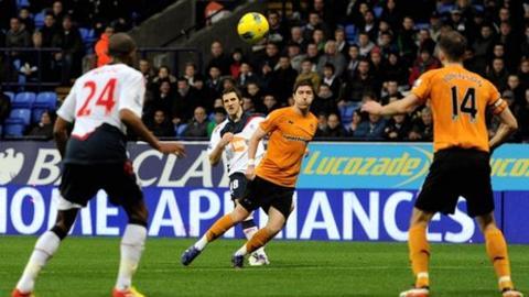 Sam Ricketts scores for Bolton