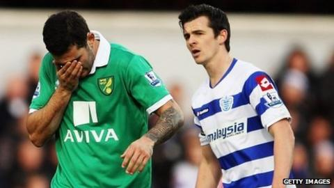 Bradley Johnson and Joey Barton