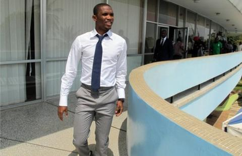 Cameroon's Samuel Eto'o