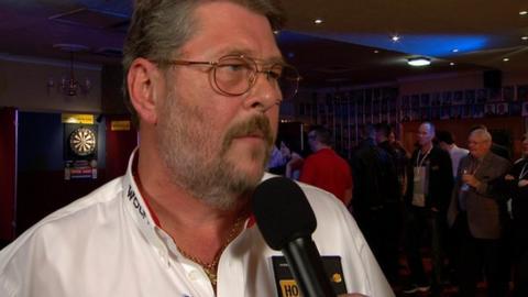 Three-time World Champion Martin Adams