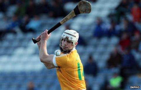 Current Antrim player Neil McManus