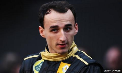 Formula 1 driver Robert Kubica ruled out of action with a broken leg