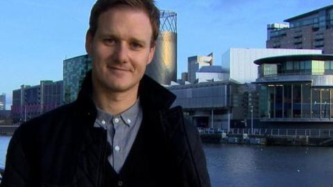 Dan Walker - Football Focus presenter