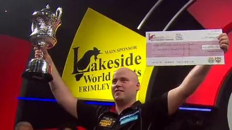 Rookie Christian Kist seals Lakeside darts triumph