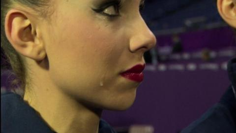 Britain's rhythmic gymnasts miss out on London 2012