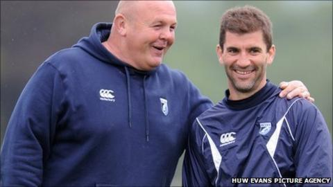 Justin Burnell and Gareth Baber