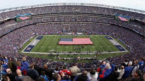 The MetLife Stadium in New York has a capacity of 82,500