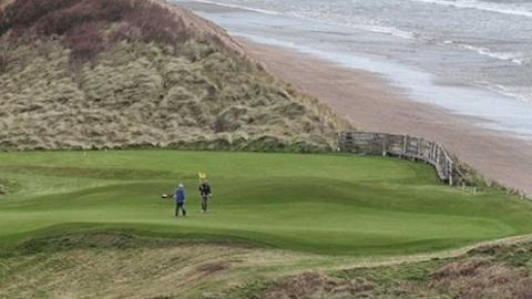 The famous Dunluce Links will stage the British Amateur Championship