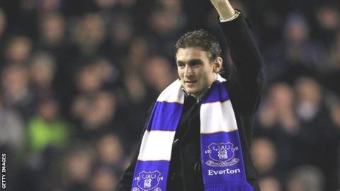 New Everton striker Nikica Jelavic