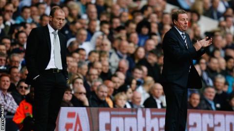 Alan Shearer and Harry Redknapp