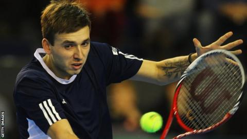 Dan Evans made it two wins out of two to win the tie