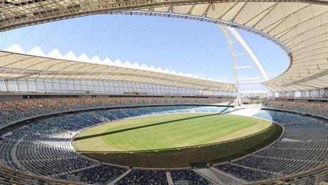The World Cup stadium in Durban which may be used for the 2013 Africa Cup of Nations