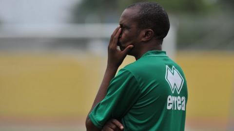 Former Niger coach Harouna Doula