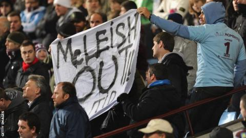 Villa fans have protested throughout Alex McLeish's tenure
