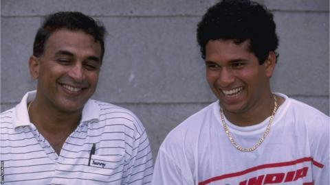 Sunil Gavaskar and Sachin Tendulkar