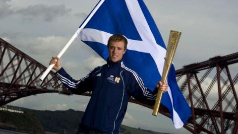 Renwick is hoping to fly the Scottish flag at the Olympics in London