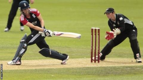 Charlotte Edwards reached three figures in only 70 deliveries