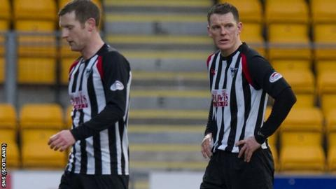 Dunfermline players have received their wages for February