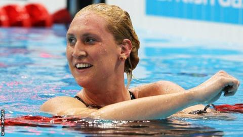 World record holder Gemma Spofforth