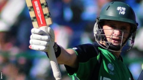 William Porterfield top-scored with 48 for Ireland in Port Elizabeth