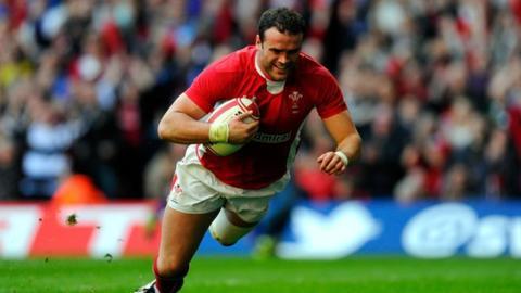 Wales' Jamie Roberts