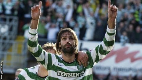 Samaras scored one and earned a penalty in Celtic's win