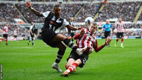 James McClean's late tackle on Danny Simpson