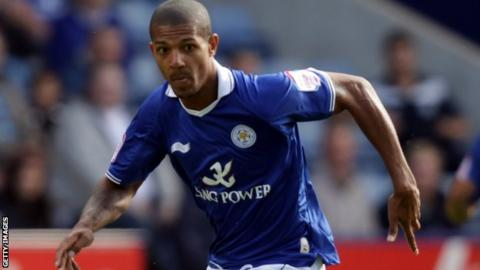 Leicester City striker Jermaine Beckford