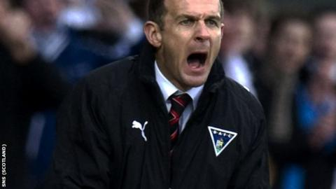 McIntyre took charge of Dunfermline in December 2007