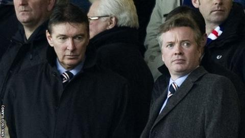 Gordon Smith and Craig Whyte