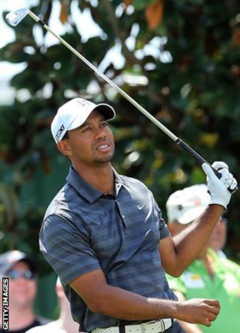 Tiger Woods - Bay Hill round three
