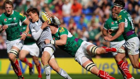 Toby Flood was back to his best against London Irish