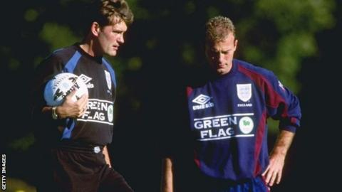 Glenn Hoddle and Alan Shearer