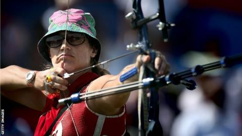 Alison Williamson made her Olympic debut in 1992