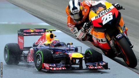 Webber & Pedrosa