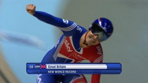 Great Britain win Team Pursuit gold