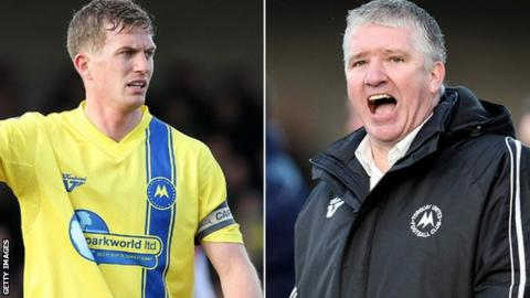 Lee Mansell (left) and Martin Ling