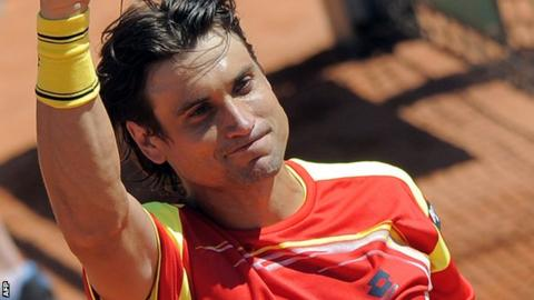 Spain's David Ferrer