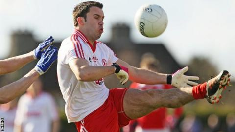 Kyle Coney has been in superb form for Tyrone