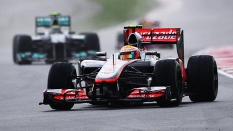 McLaren and Mecedes