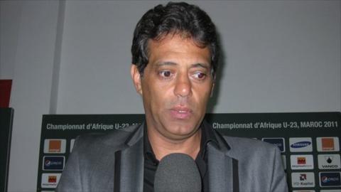 Egypt's Olympic football coach Hany Ramzy
