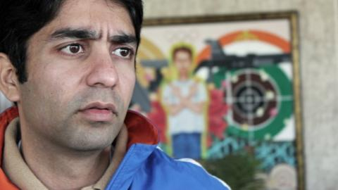 Abhinav Bindra, India's Olympic shooting champion