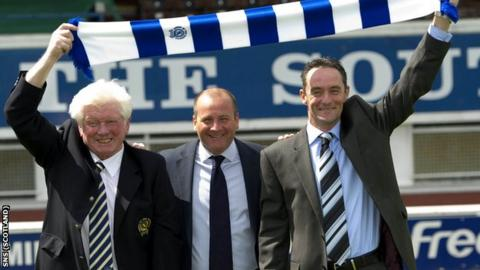 Rae reveals MacPherson and Millen as the management team last summer