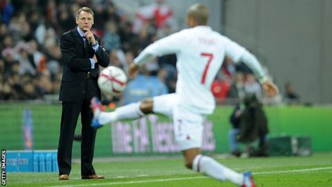 England caretaker boss Stuart Pearce