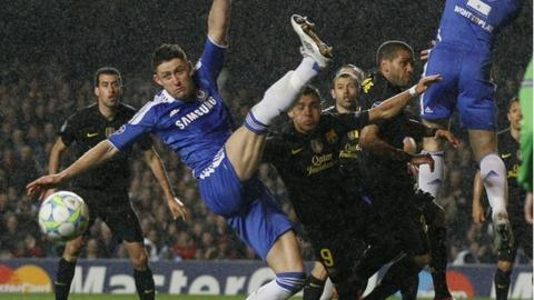 Gary Cahill was superb in defence for Chelsea