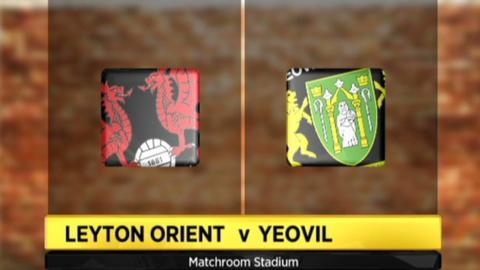 Leyton Orient 2-2 Yeovil