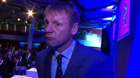 Team GB men's football coach Stuart Pearce