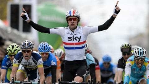 Team Sky's Bradley Wiggins