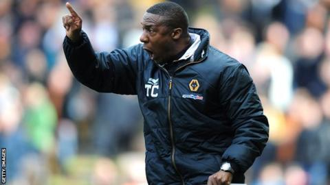 Terry Connor at Molineux