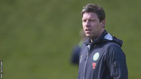 Celtic assistant manager Alan Thompson